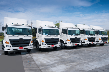 trucking fleet vehicles